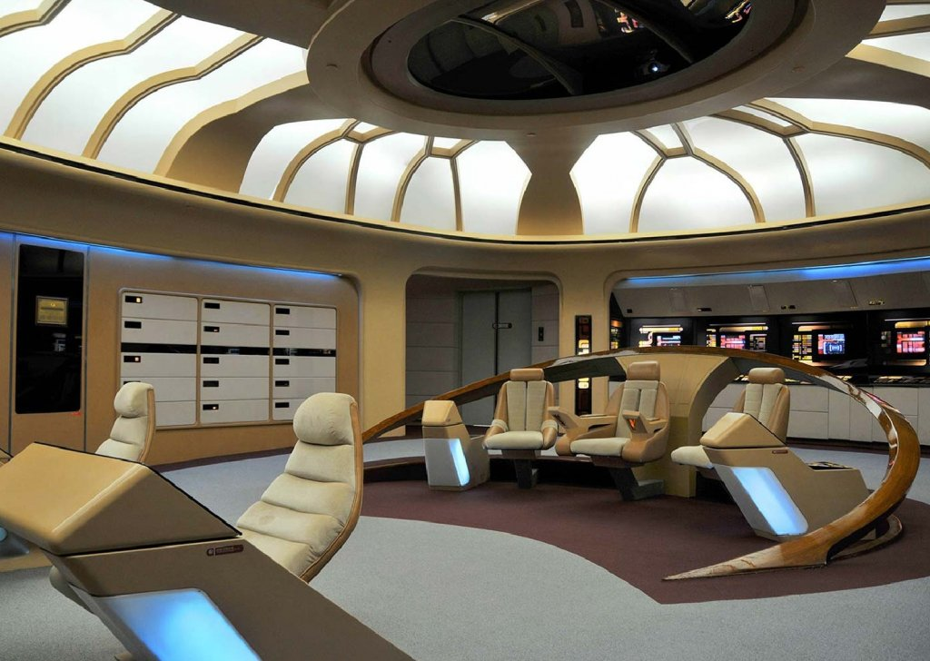 The bridge of the USS Enterprise NCC 1701-D audio atmosphere