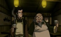 A quite study session in Zuko and Iroh's Tea Shop