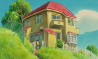 A sunny afternoon at Sosuke's home